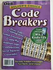 Dell Solvers Choice Code Breakers Cryptoquizzes Penny Press Variety Cryptograms