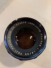 Fuji Fujinon 55mm f1.8 M42-Mount Lens