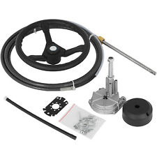 Marine Engine Turbine Rotary Steering System 15' Ss13715 Boat Cable With Wheel