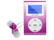 Reproductor MP3 - Sunstech Dedalo III, Rosa, 8GB, Radio FM