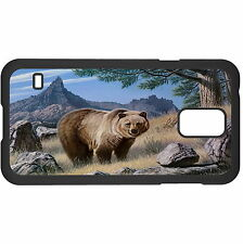 Grizzly Country Hard Case Cover For Samsung New