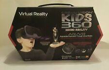 Tzumi Dream Vision KIDS 360 Mixed Reality VR Headset Game Controller Headphones