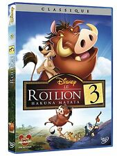 DVD *** LE ROI LION 3 - Hakuna Matata ***  ( Walt Disney N°71 )