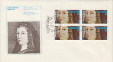 CANADA #615 8¢ JEANNE MANCE UL PLATE BLOCK FIRST DAY COVER