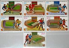GUINEA 1982 913-19 A 831-34 C154-56 Soccer World Cup Spain Fußball WM Football**