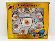 LOT 33156 | Niedliches Puppengeschirr Tee Bären Service aus Porzellan Kinder NEU