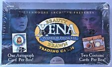 XENA BEAUTY & BRAWN Rittenhouse Sealed Trading Card Box - 3 Autograph & Costumes