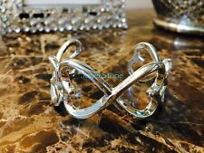 NEW 925 Sterling Silver Bracelet Love Heart Bangle Cuff PERFECT Gift