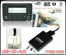 Yatour Digital CD Changer for 2004-2011 Honda Acura Mp3 USB SD AUX Interface