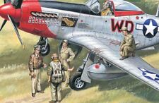 ICM 48083 USAAF Pilots and Ground Personnel 1941-1945 1 48