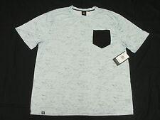 $42 NWT Mens Akademiks T-Shirt Bluez Digital Print Pocket Tee Sz 4XL 4XB 4X M951