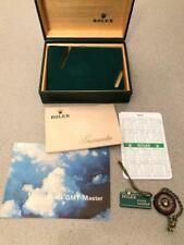 Rolex kit GMT MASTER 1675 anni 70, box, bookelt, garanzia, calendar, tag vari
