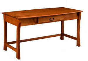 Custom Made | New | Writing Desk Home Office Furniture Solid Wood | Handcrafted