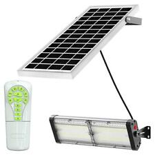 4000 Lumen Solar Powered LED Light , Separate Panel, No Motion, Bright all Night