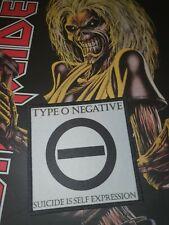 Type o Negative Patch Doom Gothic Metal Tiamat Battle Jacket
