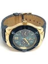 Guess Ladies Multifunction Gold And Blue Watch