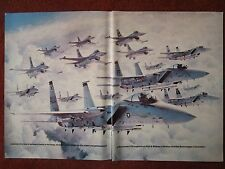 10/1982 PUB PRATT & WHITNEY F100 ENGINE US AIR FORCE F-15 EAGLE F-16 FALCON AD