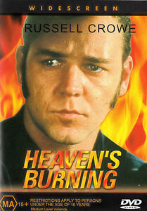 Heaven's Burning DVD Russell Crowe Movie 1980s Rare