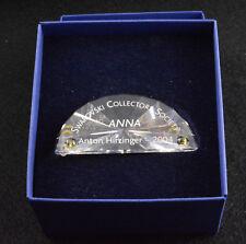 Swarovski SCS 2004 Anna Title Plaque