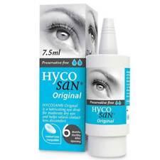 Hycosan Original Preservative Free Lubricating Dry Eye Drops 7.5ml Contact Lens