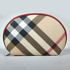 BURBERRY Bag Burberry London Cosmetic Travel Clutch Pouch Wallet *EXCELLENT*