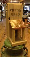 Feed 'N Seed Wood Bird Feeder