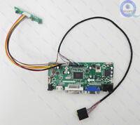 (HDMI+DVI+VGA+Audio) LED LCD Controller Board Monitor Diy Kit - 40cm LVDS Cable