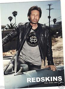 Publicité - cpm - David Duchovny pour REDSKINS - Los Angeles 2012