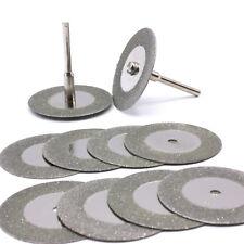10x Mini Diamanttrennscheibe 50mm Schleifscheibe für Dremel und Proxxon / D29