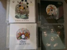 Queen 4 CD Bundle remastered II Night at the Opera Day at Races Innuendo