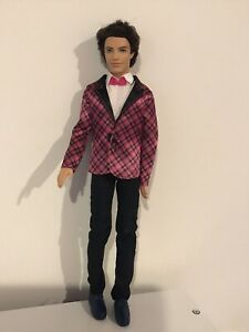 Barbie Doll Mattel - Well Dressed Ken (?) - Jointed Knees And Elbows