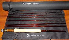 Traveller 6WT Fly Fishing  Rod 9FT 7SEC Carbon  &  Rod Case FREE 3 DAY DELIVERY