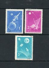 Bulgaria 1963 Lunar Probe. Complete CTO Set. One postage for multi buys....