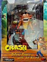 Crash Bandicoot Deluxe Jet Board Statua Figure 14cm Neca Playstation Originale