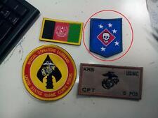 Patch ricamata Marine Raider Blue Marsoc usmc msob afgh commando seal pj delta