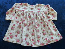 Baby Lulu Girl Cotton Floral Dress 6-9 mos