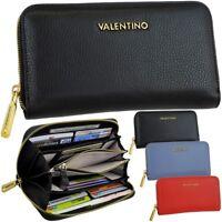 VALENTINO Damen-Geldbörse Leder Geldbeutel Börse Portemonnaie Brieftasche Purse