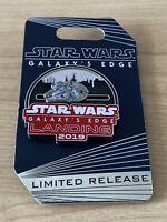 Disney WDW Galaxy's Edge Landing Millennium falcon Slider Opening Day DHS Pin LR