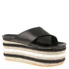 Authentic Baldinini Leather Italain Sandals Sizes 5,6,8,9,11 New Black
