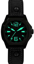 Lum-Tec Watch V3 Phantom Automatic Mens Black Leather Limited AUTHORIZED DEALER