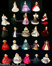 Holiday Celebration Barbie Doll Ornament Hallmark 1988 - 2010 ~ 2009 2006 1992