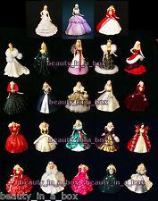 Holiday Celebration Barbie Doll Ornament Hallmark 1988 - 2010 ~ 2009 2006 1992