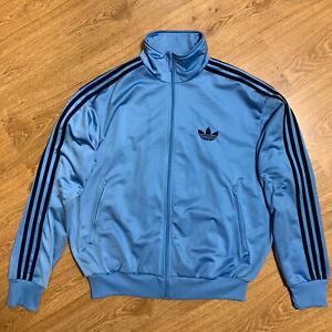 Mens Adidas Originals Track Top Jacket Blue Firebird Size L Excellent