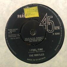 "BEATLES I FEEL FINE / SHE'S A WOMAN VINTAGE 1964 POP 45rpm 7"" VINYL RECORD"