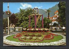 View of a Flower Arrangement, Merano, Italy. Stamp/Postmark - 1965
