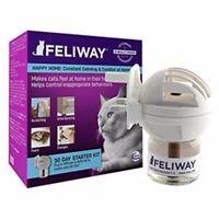 Feliway Starter Kit Diffuser Plug-In & 30 Day Refill 48ml Cat Calming & Comfort