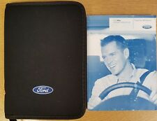 FORD KA AND FORD SPORTKA HANDBOOK OWNERS MANUAL WALLET 1996-2008 PACK D-766
