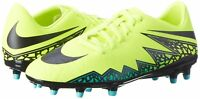 New Nike Hypervenom Phelon II FG Men's Soccer Cleats Size 11.5 - Volt Black