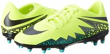 New Nike Hypervenom Phelon II FG Men's Soccer Cleats Size 9 - Volt Black