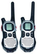 !Lot of 2 Motorola MJ270 MJ430 FRS GMRS 2-WAY Radio Walkie Talkie AA Weather VOX